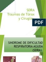 SDRA, Trauma de Torax & Cirugia