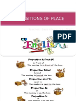 0 Prepositions of Place