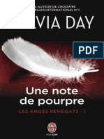 Les Anges Renegats - 1 - Une Note de Pourpre - Sylvia Day