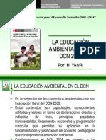 La Educacion Ambiental en El DCN