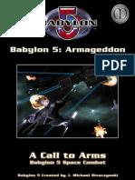 Babylon 5 a Call to Arms - Babylon 5 - Armageddon