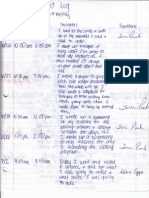 project log form