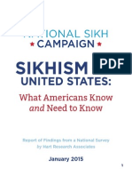 Sikhism in the United States report