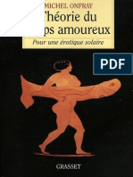 Onfray, Michel - Theorie Du Corps Amoureux