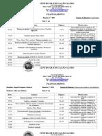 Quadro de Planejamento 2015 Língua Portuguesa e Redação 6º