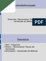 Demokratiekonzepte Präsentation