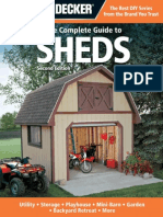 Black & Decker the Complete Guide to Sheds