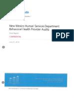 2013 Behavioral Health Audit