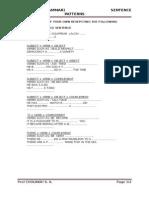 Chapter2 Grammar Sentence Patterns 2014&15