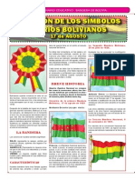 Simbolos patrios DE BOLIVIA