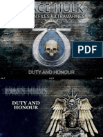 Space Hulk - Duty and Honour (Ultramarines)
