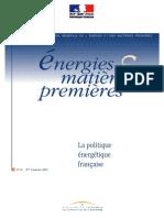 Politique Énergétique de La France