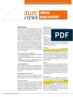 A Guide to Nature Reviews Drug Discovery (37.231 if)