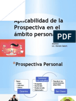 Aplicabilidad de La Prospectiva en El Ámbito Personal