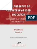 Competency Based Education Landscape