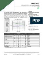 Spf5189z Data Sheet