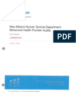 Official AGO Release-2013 Behavioral Health Audit