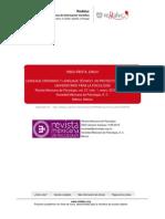 Lenguaje Ordinario y Lenguaje Tecnico. Un Proyecto de Curriculo Universitario Para La Psicologia-libre
