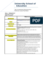 reflective lesson plan model - 450 - revised 20132edu 328-1 individual