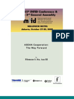Makalah-Konferensi-INFID-Hotel-Millenium-Jakarta-2008, Men_Sta_Ana_ASEAN Regional Cooperation