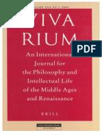 Vivarium - Vol Xlii, No 2, 2004