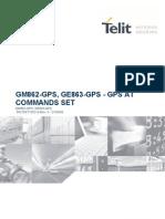 Gm862-Gps, Ge863-Gps - Gps at Commands Set