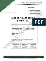 N156BGE-L21  datasheet