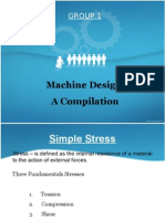 Machine Design presentation