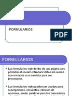 HTML Formularios
