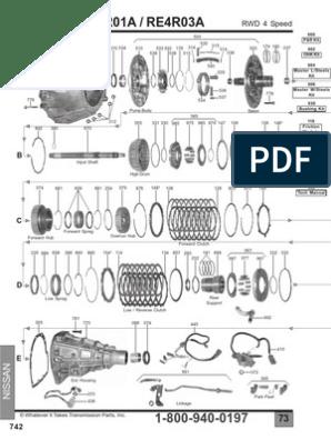 re4ro1a trans diagram.pdf | Pickup Truck | Manual Transmission on