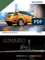Ford Fiesta Design Attraction - Datasheet