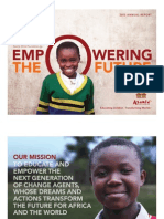 Asante Africa Foundation 2013 AnnualReport