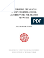 DESIGN, DEVELOPMENT AND PERFORMANCE EVALUATION OF MULTIPROCESSOR SYSTEMS ON FPGA