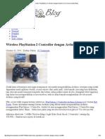 Wireless PlayStation 2 Controller Dengan Arduino Uno _ Famosa Studio Blog