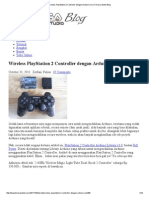 Wireless PlayStation 2 Controller Dengan Arduino Uno _ Famosa Studio Blog