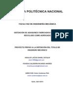 Obtencion de Adoquines Fabricados Con Vidrio Reciclado Como Agregado