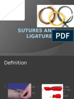 Sutures and Ligatures