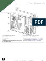 manual de servicio hp proliant ml350 g4
