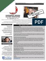 February Newsletter 2015