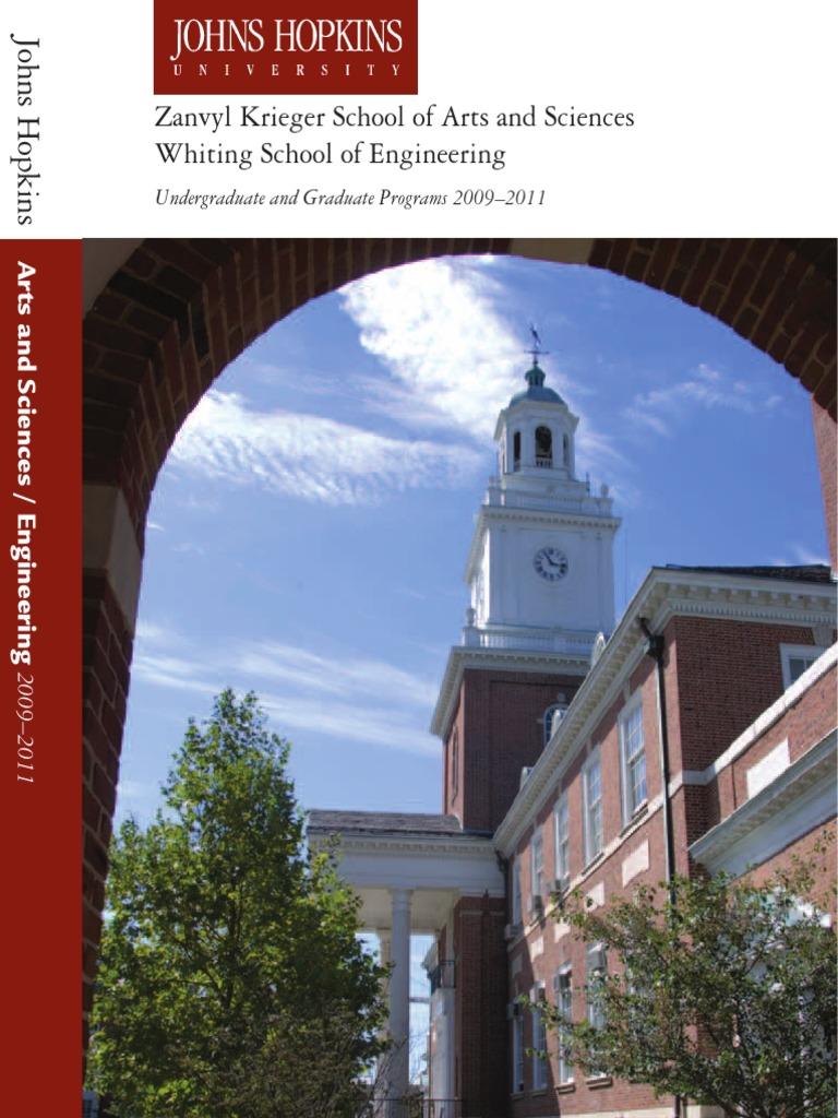 Jhu Course Catalog Johns Hopkins University Students