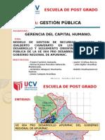 Sub Sitema de Desarrollo y Seguimiento Ue 004 Pda