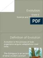 evolution powerpoint pptx