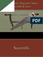 Tools - Sawmills & Saws