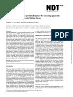 Jurnal Proposal 8, Penjelasan Glycated Albumin
