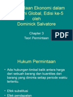 Managerial Economic Dlm Ekonomi Global Chapter 3 Dominick Salvatore