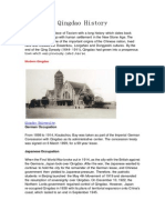 Qingdao History