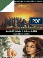 Lección 05 - Tiempo Del Derramamiento Del Espíritu Santo