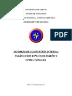 Mci Parametros Tipicos Operacionales y de Diseño - Copia