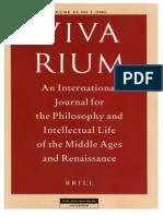 Vivarium - Vol Xl, No 2, 2002