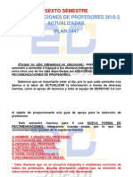 SEXTO SEMESTRE Recomendaciones de Profesores ACTUALIZADAS 2015-1. Plan 1447..pdf